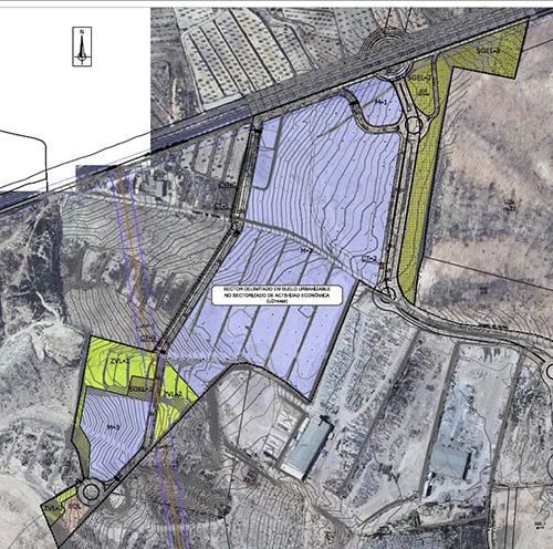 Proyecto de urbanización para Grupo Fuentes